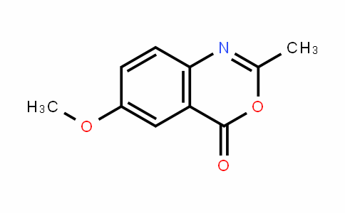 4H-3,1-Benzoxazin-4-one, 6-methoxy-2-methyl-