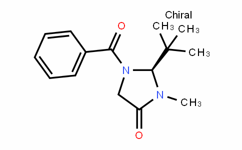 4-IMiDazoliDinone, 1-benzoyl-2-(1,1-DiMethylethyl)-3-Methyl-, (2S)-