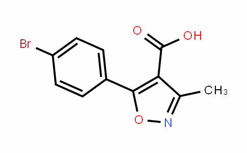 5-(4-溴-苯基)-3-甲基-异噁唑-4-甲酸