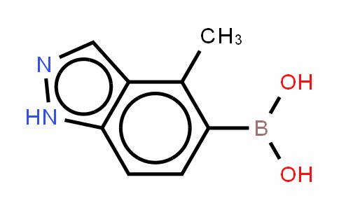4-甲基-1H-吲唑-5-基-5-硼酸