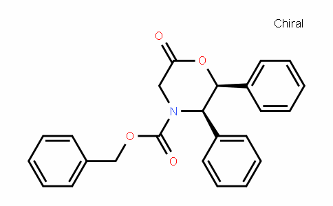 4-Morpholinecarboxylic acid, 6-oxo-2,3-Diphenyl-, phenylmethyl ester, (2S,3R)-