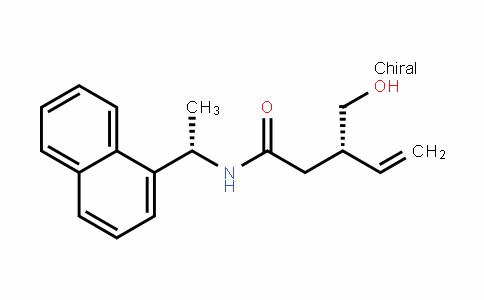 4-PentenamiDe, 3-(hyDroxymethyl)-N-[(1S)-1-(1-naphthalenyl)ethyl]-, (3S)-