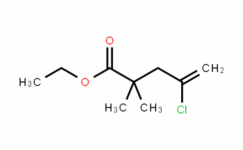4-Pentenoic acid, 4-chloro-2,2-DiMethyl-, ethyl ester