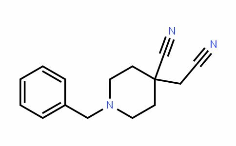 4-PiperiDineacetonitrile, 4-cyano-1-(phenylmethyl)-
