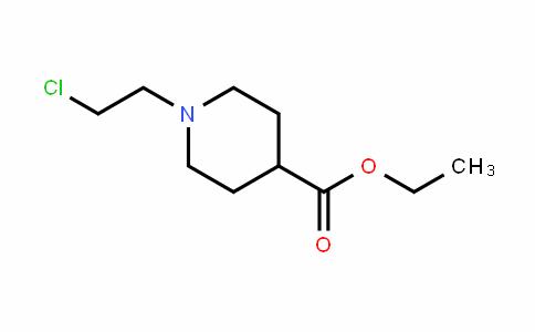 4-PiperiDinecarboxylic acid, 1-(2-chloroethyl)-, ethyl ester