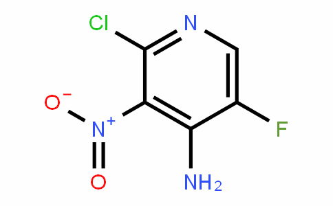 4-PyriDinamine, 2-chloro-5-fluoro-3-nitro-