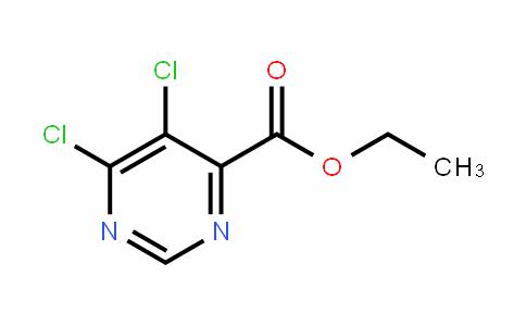 4-PyrimiDinecarboxylic acid, 5,6-Dichloro-, ethyl ester