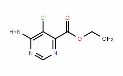 4-PyrimiDinecarboxylic acid, 6-amino-5-chloro-, ethyl ester