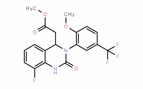 4-Quinazolineacetic acid, 8-fluoro-1,2,3,4-tetrahyDro-3-[2-methoxy-5-(trifluoromethyl)phenyl]-2-oxo-, methyl ester
