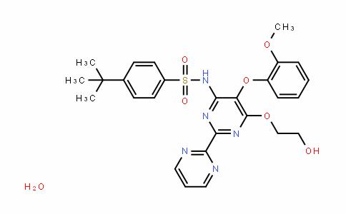 4-Tert-butyl-N-(6-(2-hyDroxyethoxy)-5-(2-methoxyphenoxy)-2,2'-bipyrimiDin-4-yl)benzenesulfonamiDe hyDrate