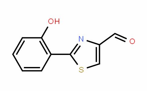 4-ThiazolecarboxalDehyDe, 2-(2-hyDroxyphenyl)-