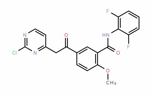 5-(2-(2-chloropyrimiDin-4-yl)acetyl)-N-(2,6-Difluorophenyl)-2-methoxybenzamiDe