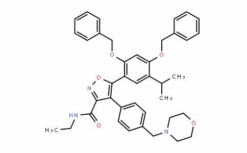 N-乙基-5-[5-异丙基-2,4-二(苄氧基)苯基]-4-[4-(4-吗啉基甲基)苯基]-3-异恶唑甲酰胺