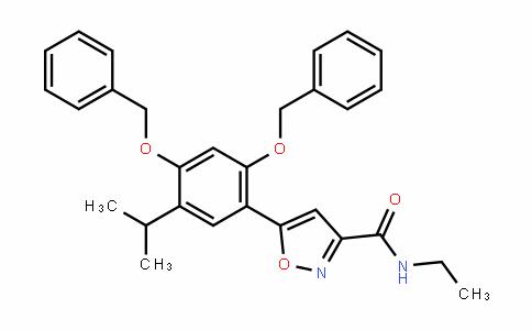 5-(2,4-bis(benzyloxy)-5-isopropylphenyl)-N-ethylisoxazole-3-carboxamiDe