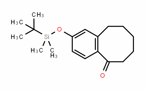 5(6H)-Benzocyclooctenone, 2-[[(1,1-DiMethylethyl)DiMethylsilyl]oxy]-7,8,9,10-tetrahyDro-
