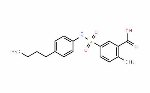 5-(N-(4-butylphenyl)sulfaMoyl)-2-Methylbenzoic acid