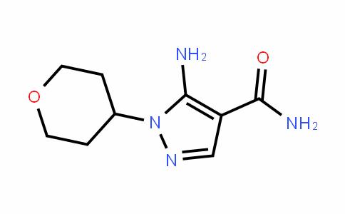 5-amino-1-(tetrahyDro-2H-pyran-4-yl)-1H-pyrazole-4-carboxamiDe