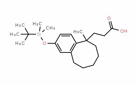 5-Benzocyclooctenepropanoic acid, 2-[[(1,1-DiMethylethyl)DiMethylsilyl]oxy]-5,6,7,8,9,10-hexahyDro-5-Methyl-