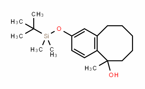 5-Benzocyclooctenol, 2-[[(1,1-DiMethylethyl)DiMethylsilyl]oxy]-5,6,7,8,9,10-hexahyDro-5-Methyl-