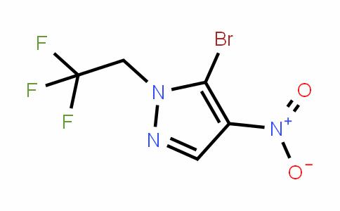 5-broMo-4-nitro-1-(2,2,2-trifluoroethyl)-1H-pyrazole