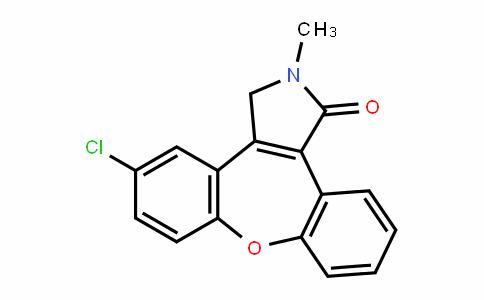 5-chloro-2-methyl-2,3-DihyDro-1H-Dibenzo[2,3:6,7]oxepino[4,5-c]pyrrol-1-one