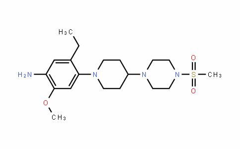 5-ethyl-2-methoxy-4-(4-(4-(methylsulfonyl)piperazin-1-yl)piperiDin-1-yl)aniline