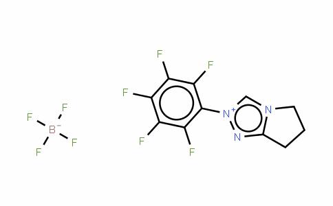 6,7-二氢-2-五氟苯基-5H-吡咯并[2,1-C]-1,2,4-三唑鎓四氟硼酸盐