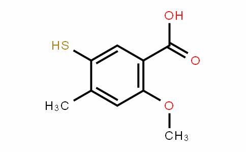 5-mercapto-2-methoxy-4-methylbenzoic acid