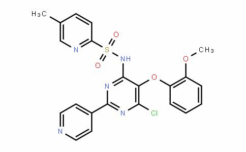 5-Methyl-N-[6-chloro-5-(2-methoxyphenoxy)-2-(4-pyriDyl)-4-pyrimiDinyl]-2-pyriDinesulfonamiDe