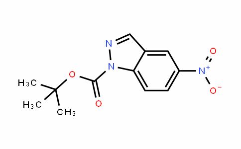 5-NitroinDazole-1-carboxylic acid Tert-butyl ester