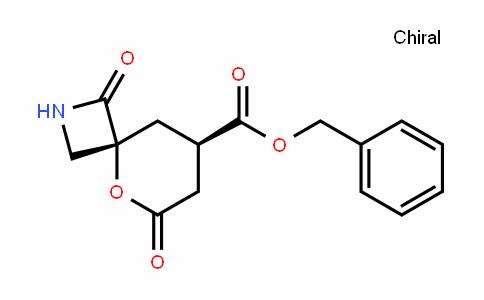 5-Oxa-2-azaspiro[3.5]nonane-8-carboxylic acid, 1,6-Dioxo-, phenylMethyl ester, (4R,8R)-rel-