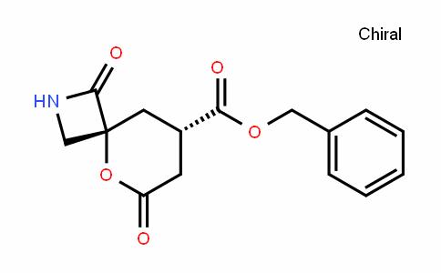 5-Oxa-2-azaspiro[3.5]nonane-8-carboxylic acid, 1,6-Dioxo-, phenylMethyl ester, (4R,8S)-rel-