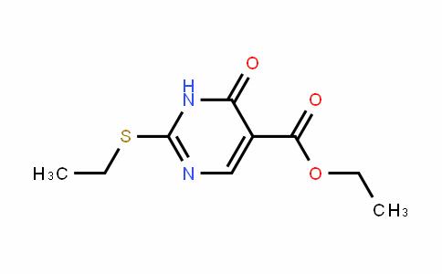 5-PyrimiDinecarboxylic acid, 2-(ethylthio)-1,6-DihyDro-6-oxo-, ethyl ester
