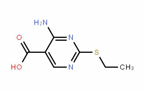 5-PyrimiDinecarboxylic acid, 4-amino-2-(ethylthio)-