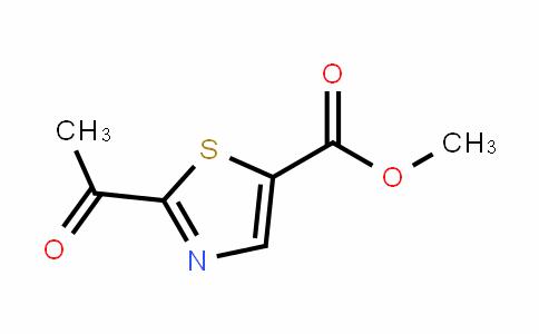 5-Thiazolecarboxylic acid, 2-acetyl-, methyl ester