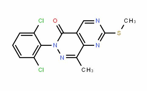 6-(2,6-Dichlorophenyl)-8-Methyl-2-(Methylthio)pyriMiDo[4,5-D]pyriDazin-5(6H)-one