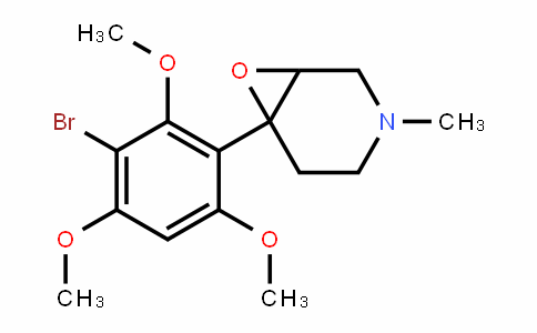 6-(3-bromo-2,4,6-trimethoxyphenyl)-3-methyl-7-oxa-3-azabicyclo[4.1.0]heptane