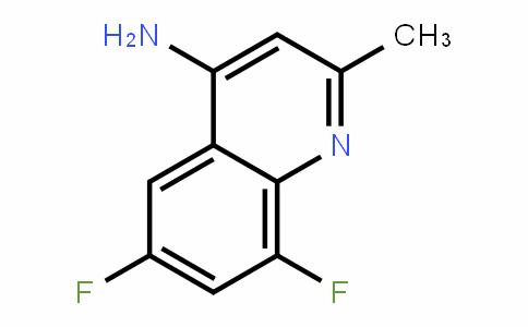 6,8-Difluoro-2-methylquinolin-4-amine