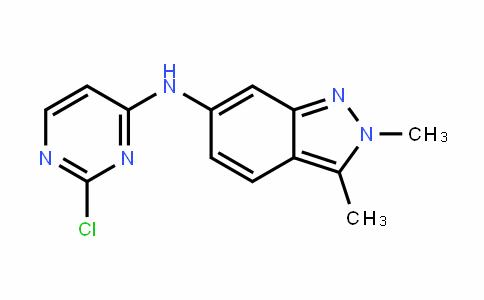 6-[N-(2-chloropyrimiDin-4-yl)amino]-2,3-Dimethyl-2H-inDazole