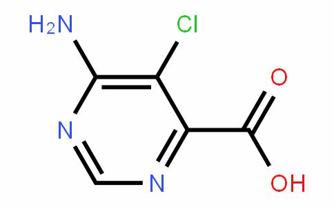 6-aMino-5-chloropyriMiDine-4-carboxylic acid