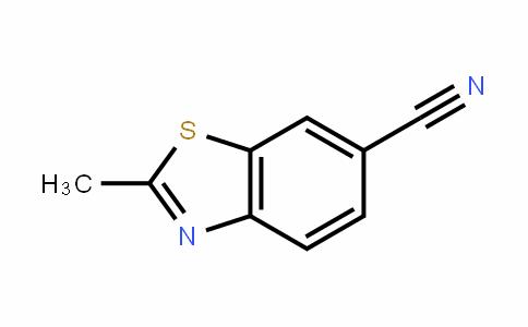 6-Benzothiazolecarbonitrile, 2-Methyl-