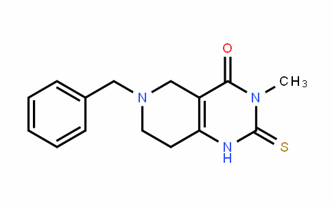 6-benzyl-3-Methyl-2-thioxo-2,3,5,6,7,8-hexahyDropyriDo[4,3-D]pyriMiDin-4(1H)-one