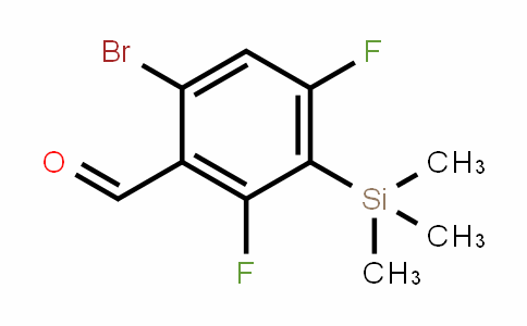 6-bromo-2,4-Difluoro-3-(trimethylsilyl)benzalDehyDe