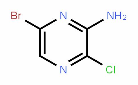 6-溴-3-氯吡嗪-2-胺