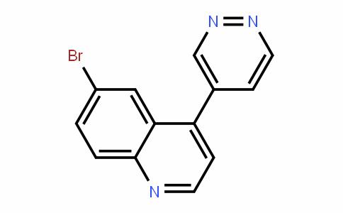 6-bromo-4-(pyriDazin-4-yl)quinoline