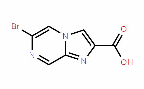 6-broMoiMiDazo[1,2-a]pyrazine-2-carboxylic acid