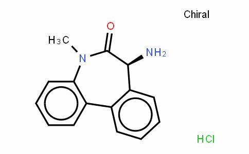 6H-Dibenz[b,D]azepin-6-one, 7-amino-5,7-DihyDro-5-methyl- (hyDrochloriDe)(1:1),(7S)-