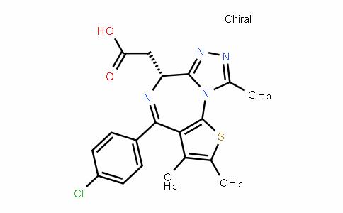 6H-Thieno[3,2-f][1,2,4]triazolo[4,3-a][1,4]Diazepine-6-acetic acid, 4-(4-chlorophenyl)-2,3,9-trimethyl-, (6R)-