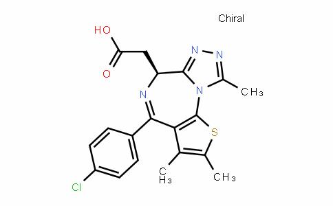 6H-Thieno[3,2-f][1,2,4]triazolo[4,3-a][1,4]Diazepine-6-acetic acid, 4-(4-chlorophenyl)-2,3,9-trimethyl-, (6S)-