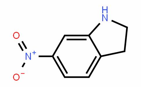 6-硝基吲哚啉